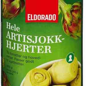 Prøv også Eldorado artisjokk-hjerter i vann.