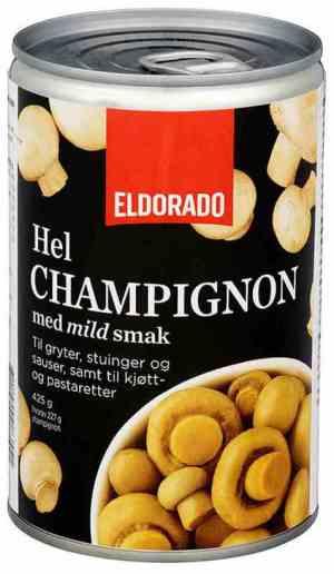 Prøv også Eldorado champignon hel.