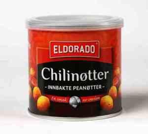 Prøv også Eldorado chilinøtter 70gr.