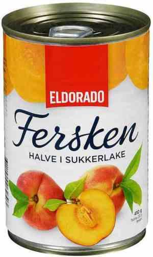 Prøv også Eldorado fersken halve.