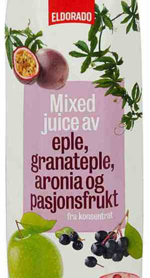 Prøv også Eldorado granateplejuice.