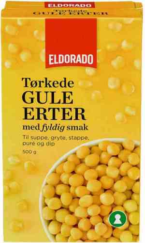 Prøv også Eldorado gule erter.