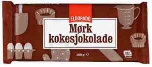 Prøv også Eldorado kokesjokolade mørk.