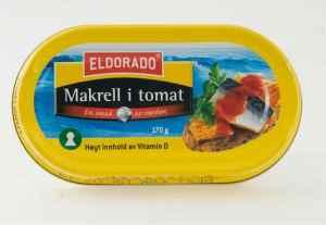 Prøv også Eldorado makrell i tomat.