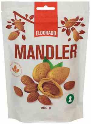Prøv også Eldorado mandler ståpose.
