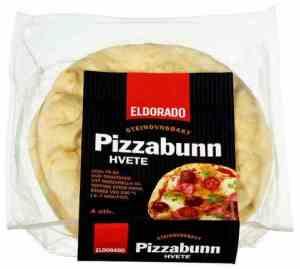 Prøv også Eldorado pizzabunn hvete 4x70g.