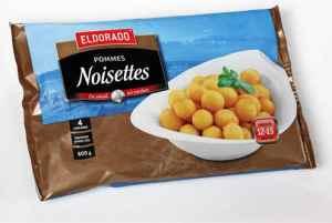 Prøv også Eldorado pommes noisettes.