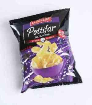 Prøv også Eldorado pottifar m/salt og pepper.
