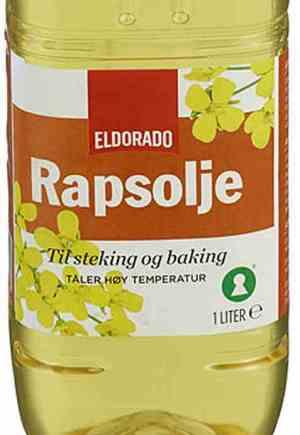 Prøv også Eldorado rapsolje.