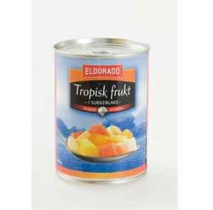 Prøv også Eldorado tropisk frukt.