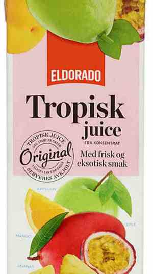 Prøv også Eldorado tropisk juice.