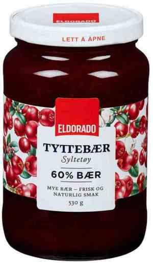 Prøv også Eldorado tyttebærsyltetøy.