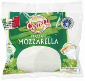 Prøv også Tine Økologisk Mozzarella castelli.