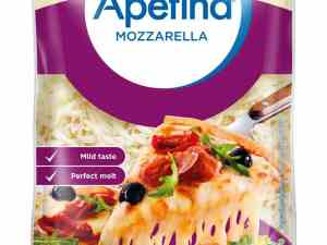Prøv også Arla apetina mozzarella revet.