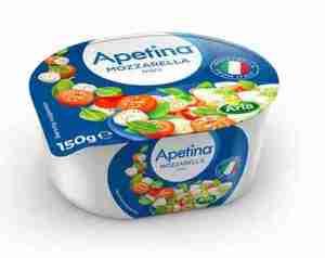 Prøv også Arla Apetina Mozzarella Pearls.