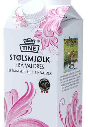 Prøv også TINE Stølsmjølk frå Valdres.