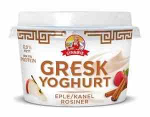Prøv også Synnøve gresk yoghurt eple, kanel og rosin.