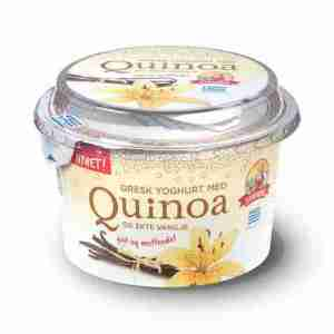 Prøv også Synnøve gresk yoghurt med quinoa og ekte vanilje.