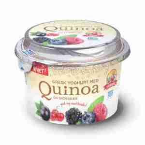 Prøv også Synnøve gresk yoghurt med quinoa og skogsbær.