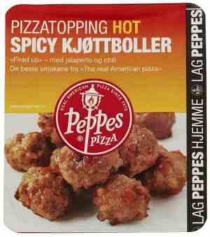 Prøv også Peppes Spicy Kjøttboller.