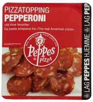 Prøv også Peppes Pepperoni.