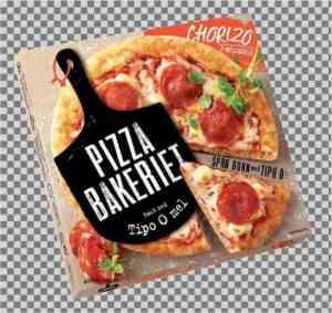 Prøv også Pizzabakeriet chorizo og mozzarella.