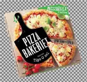 Prøv også Pizzabakeriet mozzarella.