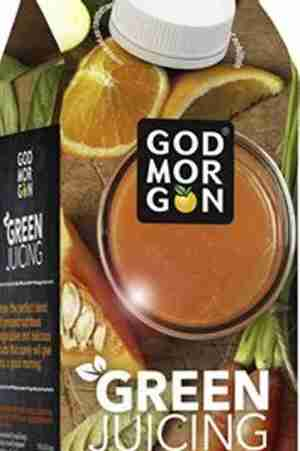 Prøv også Arla God Morgen green juicing carrot.