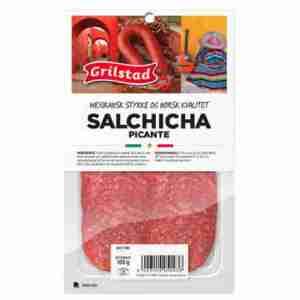 Prøv også Grilstad salchicha picante.