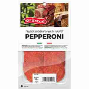 Prøv også Grilstad pepperoni.