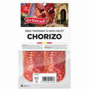 Prøv også Grilstad chorizo.