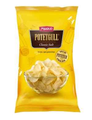 Prøv også Maarud Potetgull® Classic Salt.