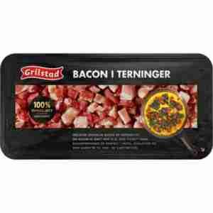 Prøv også Grilstad bacon i terninger.