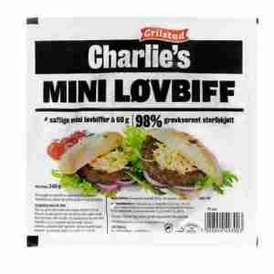 Prøv også Grilstad charlies mini løvbiff.