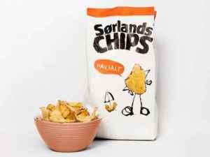 Prøv også Sørlandschips original med havsalt.