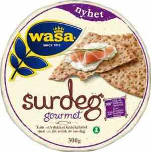 Prøv også Wasa surdeig gourmet.