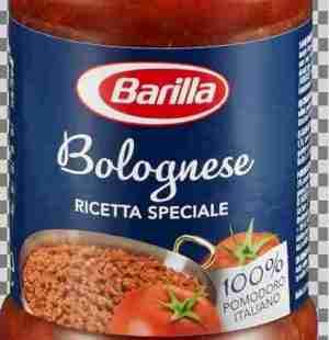 Prøv også Barilla bolognese.