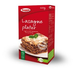 Prøv også Sopps Lasagneplater.