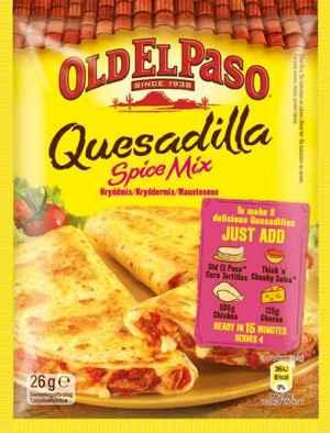 Prøv også Old el paso quesadillas spice mix.