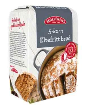 Prøv også Møllerens eltefritt 5 kornbrød.
