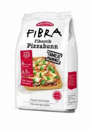Prøv også Møllerens fibra pizzabunn.