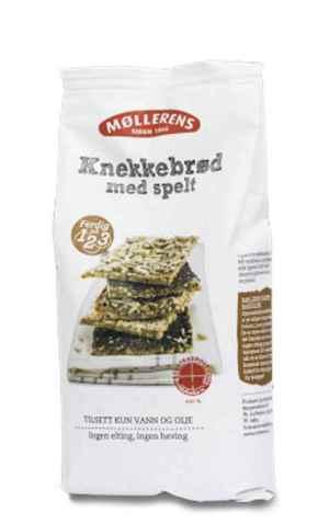 Prøv også Møllerens knekkebrød med spelt.