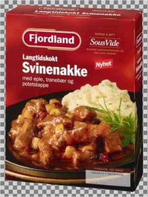 Prøv også Fjordland svinenakke med eple, tranebær og potetstappe.
