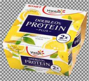 Prøv også Yoplait Double 0% Protein Plus Sitron.