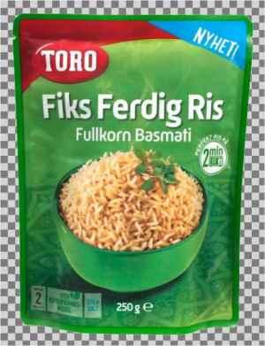 Prøv også Toro fiks ferdig ris fullkorn.
