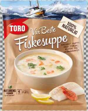 Prøv også Toro vår beste fiskesuppe.