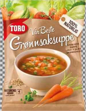 Prøv også Toro vår beste grønnsaksuppe.