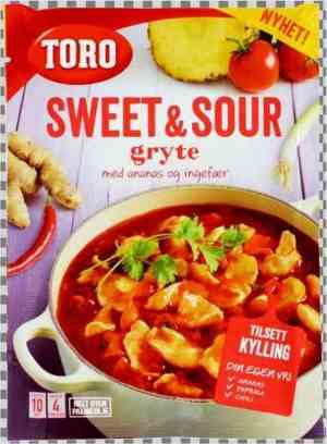 Prøv også Toro sweet and sour gryte.