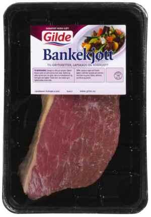 Prøv også Gilde bankekjøtt.