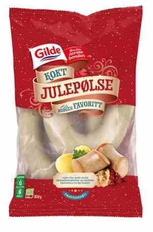 Prøv også Gilde kokt julepølse.